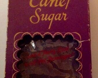 Sunny Can Sugar Box (empty) Vintage