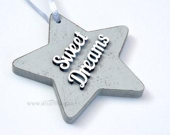 Wooden star | Hanging Star | children's room | Kidws room decor | Star decor