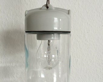 Porcelain Glass Kolben Lampe