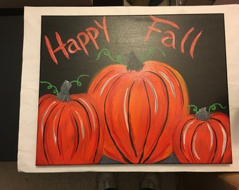 Happy Fall painting