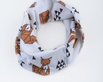 Fox Eternity Scarf (6m to 36m) Free Shipping