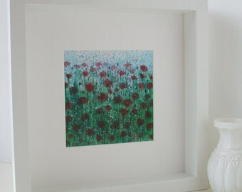 Red Poppies Original Painting