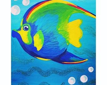 Rainbow Angel Fish