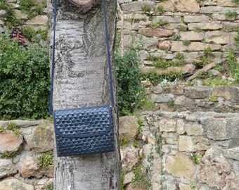 60's Dark Blue shoulder bag