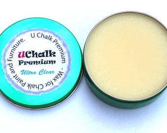 Ultra clear Chalk / Paint Furniture Wax with a test pack of chalk paint powder!
