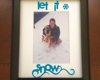 Snow Day picture frame