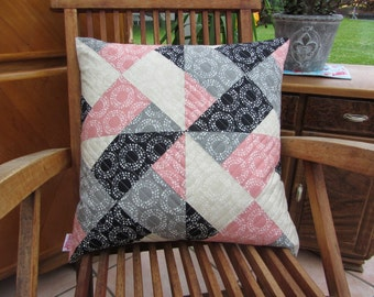 Whirly modern quilt pattern - quilts patchwork sewing ebook pillow baby quilt twin king lap size