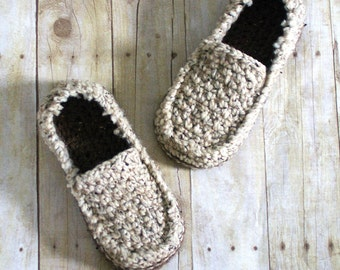 Crochet Pattern for Super Pack of Mens Loafers - Crochet Pattern 122 - Instant Download L