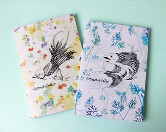 PROMO ! Notebook CARNET D'IDEES - Collection Animals - Notebook design and colorful