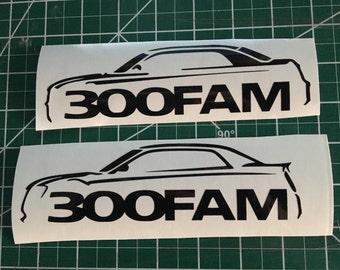Custom Mopar Chargers / Challengers logo or 300fam logo