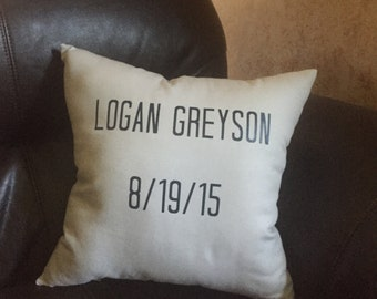 Personalized Pillow - Decorative