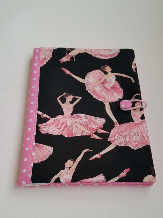 Fabric Book Covers Etsy : Fabric book cover made of cotton with by fabricbagsandmore