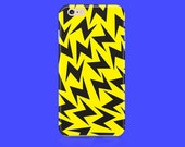 Yellow Lightning Bolt iPhone 6 case, iPhone 6s case, iPhone 5 case, iPhone 5c case, iPhone 6 Plus case, iPhone 6s plus case, iPhone 5s case