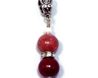 Pendant made from your Special Flowers by flowers2beads