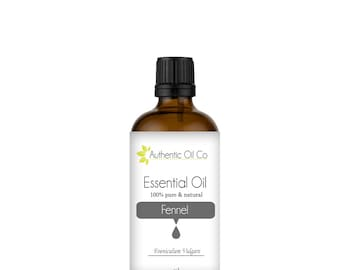 Fennel Essential Oil 100% Pure 10ml 50ml 100ml