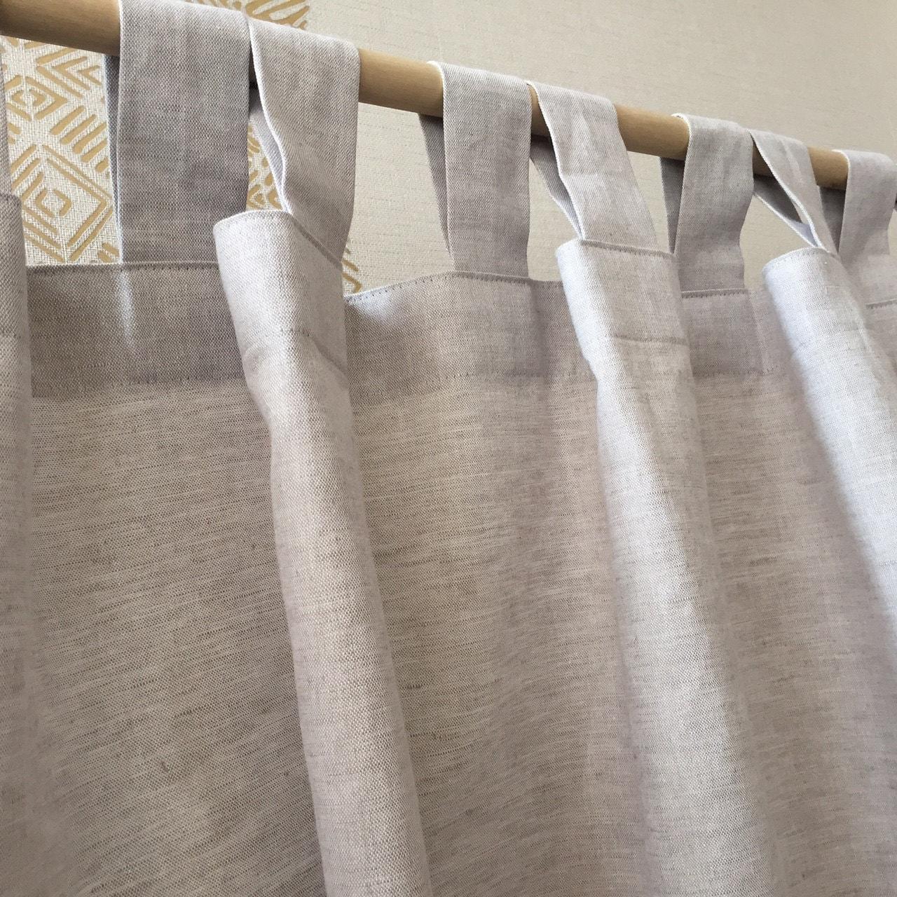 Linen Curtain Panels Linen Drapes Linen Curtain Window