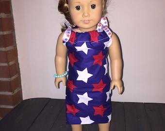 American girl doll pillow case dress