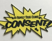 Iron-on Consent Patch!