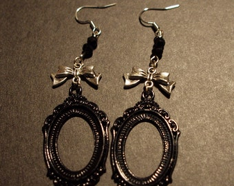 Cameo Earrings Gothic Lolita Victorian