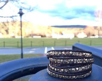 Four wrap bracelet