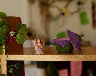 Fairy Garden Hiding Fairy in Flower