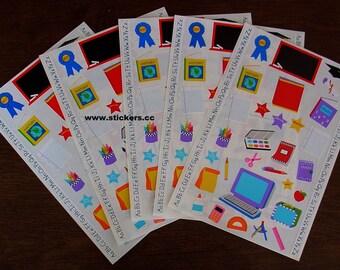 Mrs Grossman's School Stickers