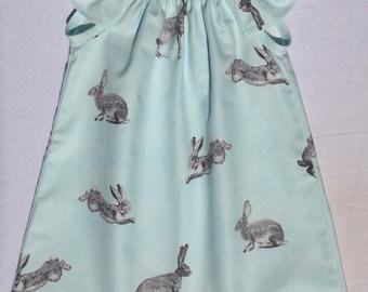 Bunny rabbit hare flutter sleeve dress