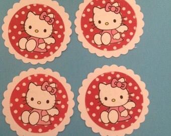 Hello Kitty Senario cupcake toppers