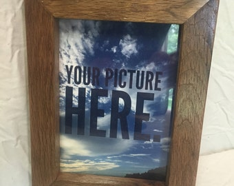 Oak picture frame  5x7