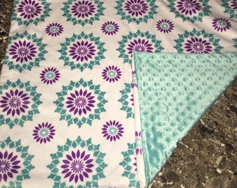 Baby Blanket, fleece blanket, minky, baby shower gift