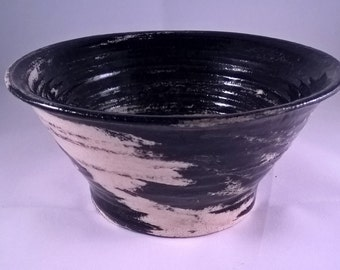 Small Marbled Ceramic Bowl