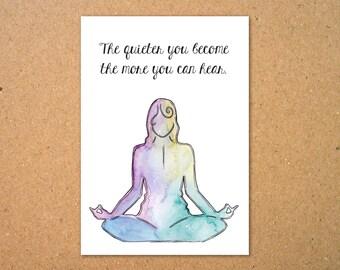 Meditation Print