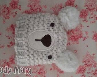 Hat made in size wool bjd msd