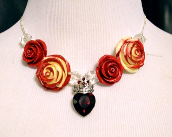 Queen of Hearts inspired necklace