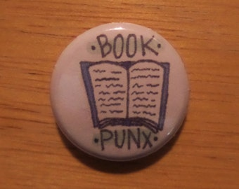 Book Punx button