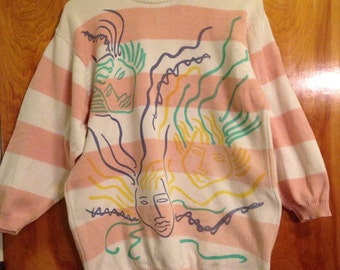 Vintage 1980s Womens Sweater Size Small Great Condition