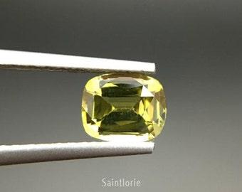 Chrysoberyl 1.01 carat - Cushion