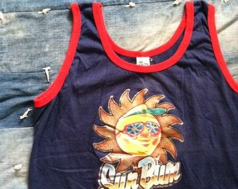 Vintage 1980 Sun Bum Tank Top