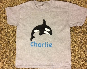 Boys sea world shirt