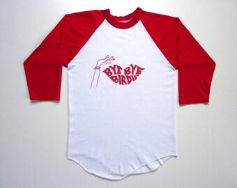 Vintage 80's Band Tee-Shirt Broadway Musical Bye Bye Birdie
