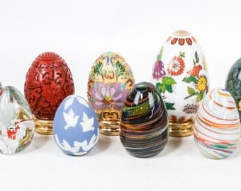 Franklin Mint Artisanal Eggs