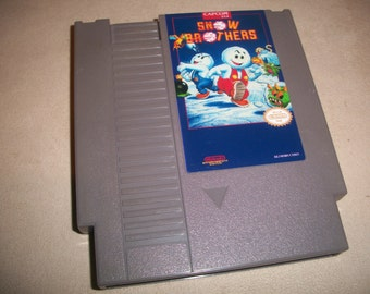 Snow Brothers NES Nintendo reproduction Game