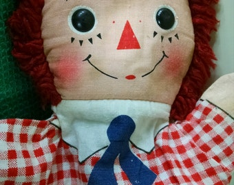 Raggedy Andy Vintage Hand Puppet