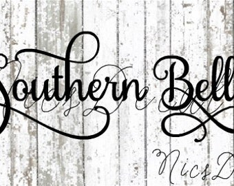 Southern Belle car decal,southern belle decal,vinyl,decal,southern,country girl,country girl decals,decals,country decals