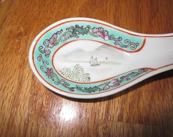 Chinese Porcelain Spoon