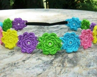 Dainty Flowers Headband