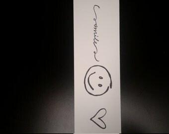 smile bookmark