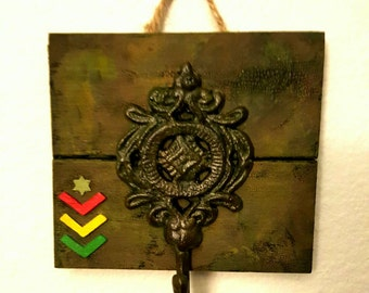 JAH ARMY ~ Aged To Perfection Wall Hook