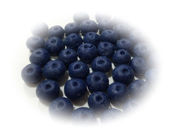 Blueberries - Wax Fake Foods and Candle Embeds 8 oz