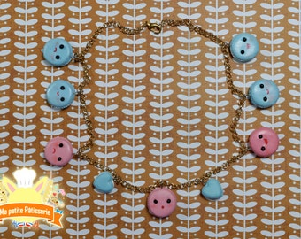 Little macaroon necklace
